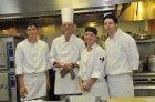 Chef Bonholzer and his Crew